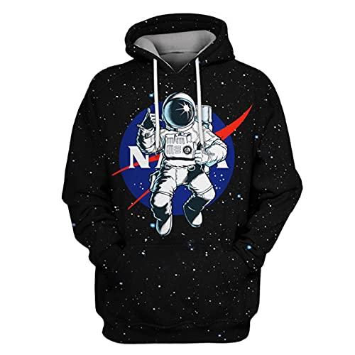 Spacesuit - Sudadera con capucha para fiestas de Navidad
