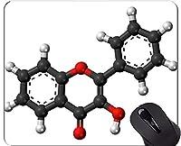 マウスパッドの習慣、Hydroxyflavoneのオフィスのマウスパッドを賭ける首都の要素が付いている科学の手紙