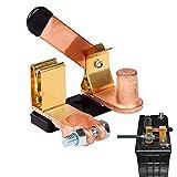 Spurtar Interruttore a Lama per Staccabatteria, Interruttore Stacca Batteria 12V 24V, Connettore a Scollegamento Rapido Batteria,per Auto, Barca, Camion, per Post Negativo