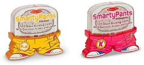 Melissa & Doug Smarty Pants Deluxe Brain Building Card Set - Preschool & Kindergarten - Games & Activities