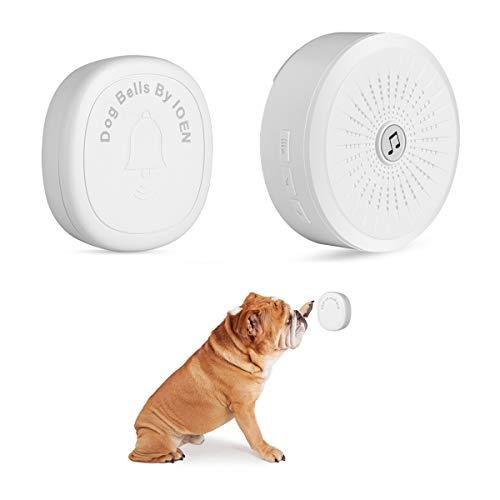 IOEN Smart Bell Dog Doorbells,Dog Bell Potty Communication,Professional Dog Door Bell Potty Dog Training Bell Buttons(1 Activator)