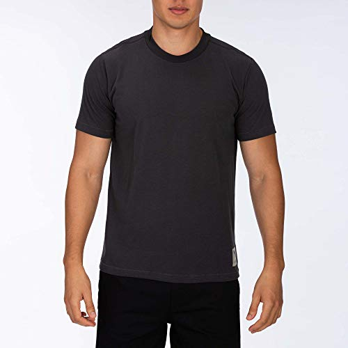 Hurley M Dri-Fit Savage S/S Hauts Homme, Anthracite, FR : 2XL (Taille Fabricant : XXL)