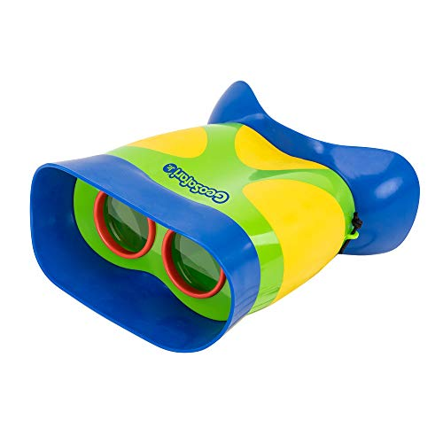 Learning Resources- Prismáticos Infantiles Kidnoculars de GeoSafari Jr, Color (EI-5260)