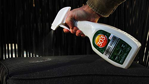 303 Fabric Guard - For Outdoor Fabrics - Restores Water Repellency To Factory New Levels - Repels Moisture - Prevents Stains - Safe For All Fabrics, 32 fl. oz. (30606CSR)