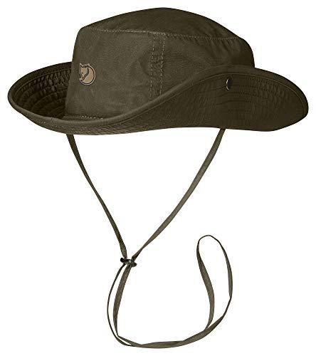 Fjällräven Erwachsene Abisko Summer Hat Hut, grün (Dark Olive), M