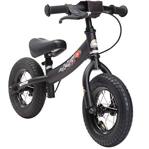 BIKESTAR Kinder Laufrad Lauflernrad Kinderrad für Jungen und Mädchen ab 2-3 Jahre | 10 Zoll Sport Kinderlaufrad | Schwarz - 2