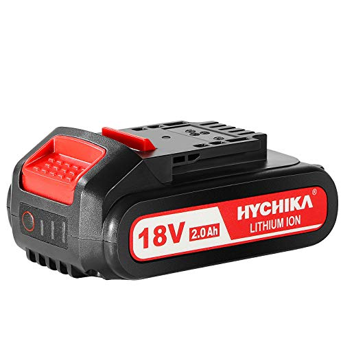 HYCHIKA 18V 2000mAh Akku, Lithium Batterie für HYCHIKA 18V Säbelsäge, Akkuschrauber, Akku Schlagschrauber