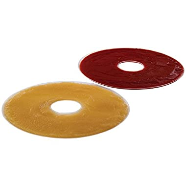 Nesco LSS-2-6 Fruit Roll Sheets for Dehydrators FD-28JX/FD-37/FD-60/FD-61/FD-61WHC/FD75A and FD-75PR, Set of 2