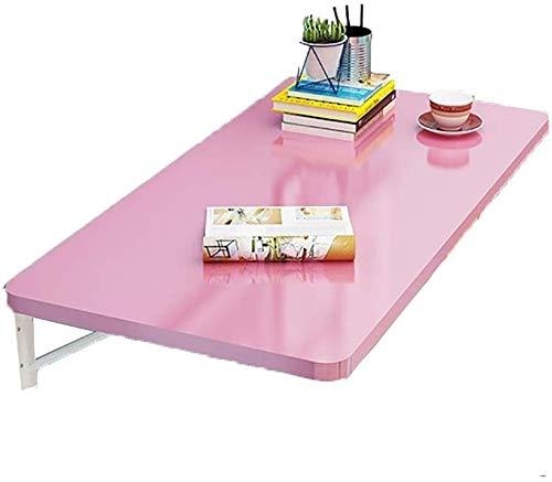 Qivor Mesa Plegable Mesa de Rosa de Pared Plegable Estudio de la Hoja MDF Cocina Mesa for el Aprendizaje…