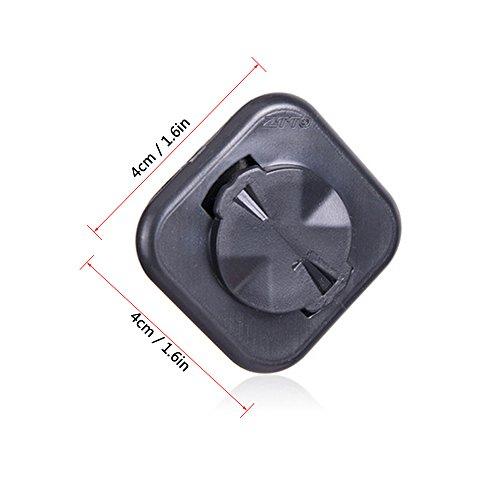 Lixada MTB Rennrad Computer Adapter für Garmin Mount Extended Telefon Sitzhalter - 3