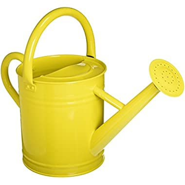 Gardener's Select AW3003P6LZ   Watering Can, Lemon Yellow, 3.5 L