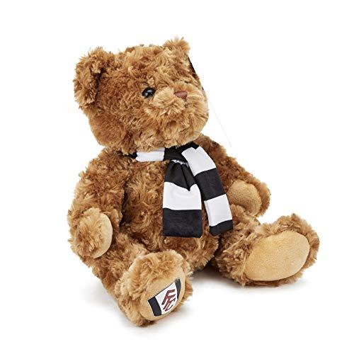 Fulham Football Club Boys Girls Bedroom Duvet Cover Bedding Set (Bear Soft Toy)