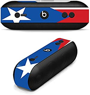 MightySkins Skin Compatible with Beats by Dr. Dre Beats Pill Plus wrap Cover Sticker Skins Puerto Rican FLG