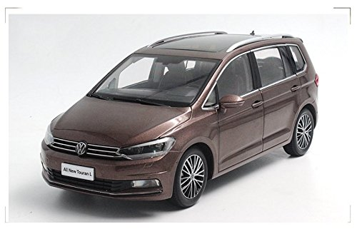VW Volkswagen New Touran 2016 Modell Auto 1:18 Braun Paudi
