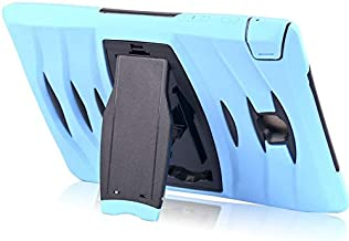 Light Blue Color For Samsung Galaxy Tab A T350 8inch Dust ShockProof Rubber Heavy Duty Hard Case Cover