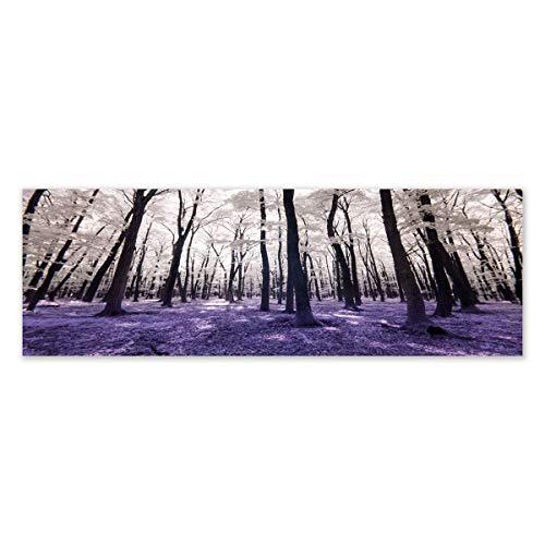 clasificación y comparación Cuadro escandinavo sobre cabecero de lona violeta 150 × 50cm – LOLAhome para casa