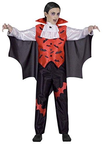 Ciao 13008 - Vampiro Costume Bambino, 7-10 Anni , Rosso