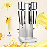 Professional Milk Shake Machine,Commercial Stainless 110V Double/Single(Optional)Head Drink...