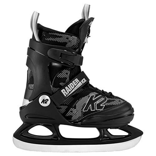 Sconosciuto K2 Raider Ice, Scarpa da Hockey su Ghiaccio, Green_Yellow, 35 EU