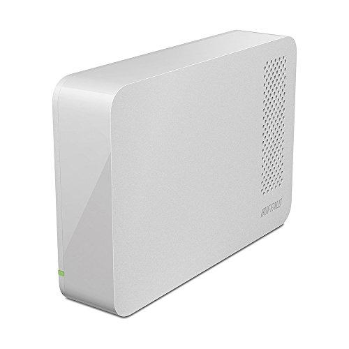 BUFFALO USB3.0用 外付けHDD 1TB ホワイト HD-LC1.0U3-WHD