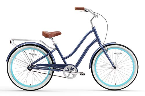 sixthreezero EVRYjourney Women's  Hybrid Cruiser Bicycle