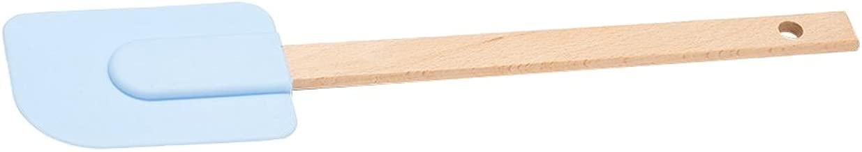 ACCOCO 4 Pezzi di Utensili da Cucina Premium in Silicone Flessibile Spatola Cuocere e Miscelare Resistente al Calore Antiaderente Gomma Raschietto Spatole Cucchiaio con Rivestimento Solido Igienico