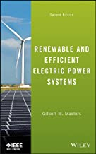Renewable and Efficient Electric Power Systems (Wiley – IEEE) PDF