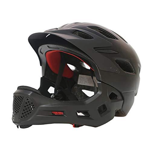 NVBXDF Casco de Bicicleta, Casco de montaña Desmontable, Apto para Deportes al Aire Libre para Adultos y Hombres, certificación CE