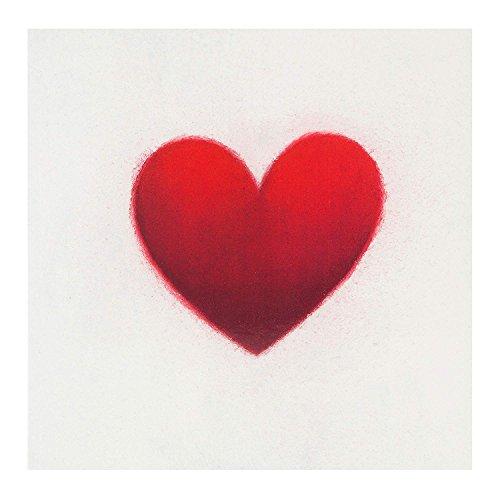 Tarjeta de galería de Hallmark Studio con diseño de corazón ilustrado, cumpleaños, aniversario, día de San Valentín