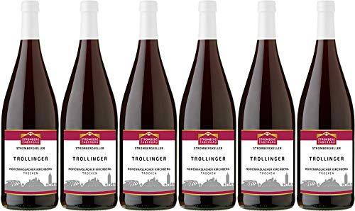 Stromberg-Zabergäu Hohenhaslacher Kirchberg Trollinger (1L) 2018 Trocken (6 x 1.0 l)
