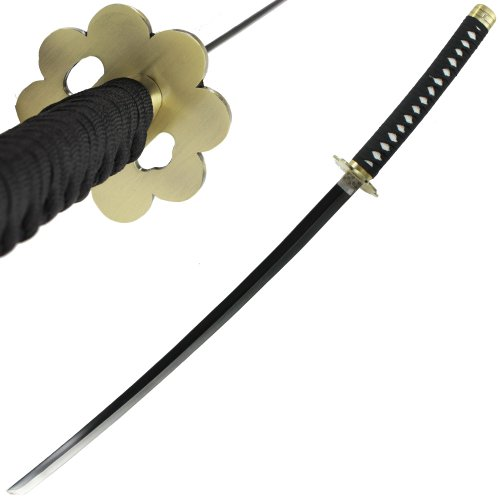 Japanese Anime Samurai Ninja Katana Sword Unsharpened Carbon Steel Blade