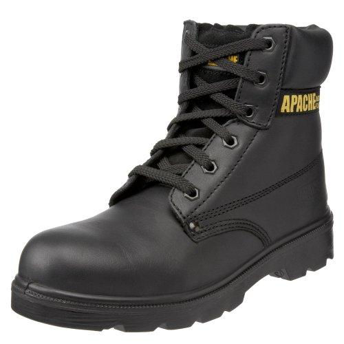 Sterling Safetywear - Scarponcini antinfortunistici, Uomo, Nero (Schwarz (Schwarz)), 49,5 (14 uk)