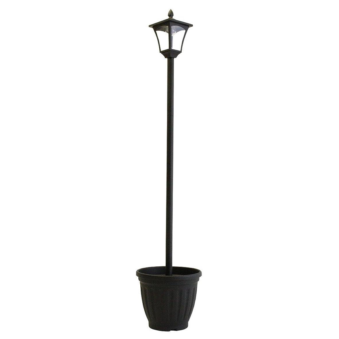 ほこり石の経済植木鉢付きソーラー街灯 1灯タイプ