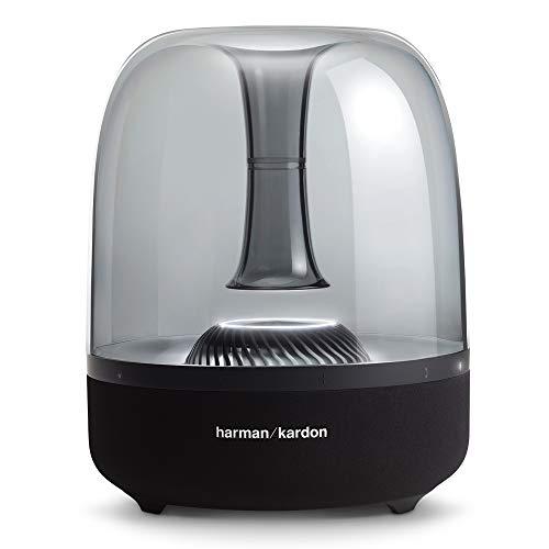 Harman Kardon HKAURASTUDIO2BLKG1 Bocina Inalámbrica con Luz Ambiental, Color Negro