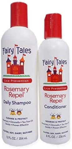 Fairy Tales Rosemary Repel Daily Kid Shampoo 12 Fl Oz Conditioner 8 Fl Oz Duo product image