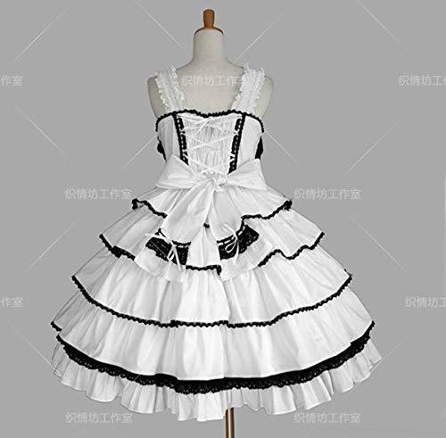 WSJDE Lovelivenico Prinzessin Kleid Ballkleid Cosplay Anime Kostüm 5 L.