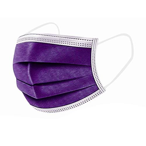 Mascarilla Desechable Máscara Protectora De Tres Capas De Impresión De Adulta Industrial 3Ply Ear Loop Para Actividades Fiesta Al Aire Libre