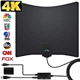 HDTV Antenna, 2019 New Indoor Digital TV Antenna 130 Miles Range with Amplifier