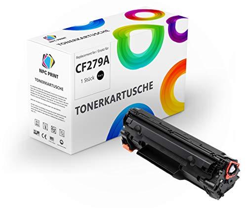 NPC PRINT TONER sustituye a HP CF279A 44A | 1000 páginas | compatible con Hewlett-Packard Laserjet Pro M12a, Laserjet Pro M12w, HP Laserjet Pro MFP M26a, Laserjet Pro MFP M26nw