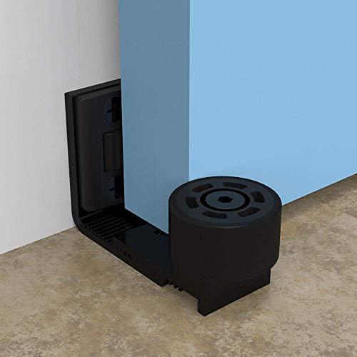 tira de sellado de amortiguaci/ón de piso universal a prueba de agua de 20 pies 6 m reemplazo de goma para el burlete para cualquier puerta de garaje HUKOER Sello de umbral de puerta de garaje