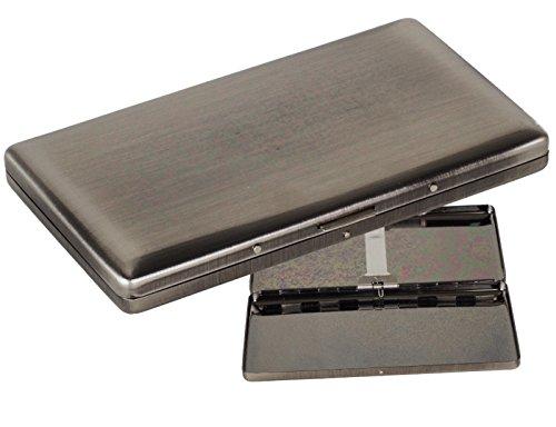 Zigarettenetui - Zigarilloetui 120mm mit Federscharnier inkl. Lifestyle-Ambiente Tastingbogen