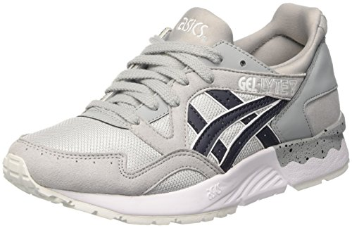 Asics Gel-lyte V, Unisex-Erwachsene Laufschuhe, Grau (Light Grey/India Ink), 42 EU (7.5 UK)