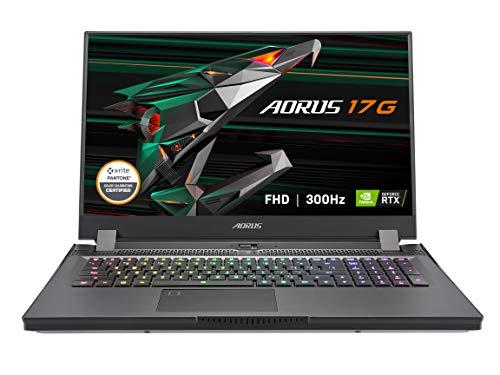 GIGABYTE AORUS 17G YC - 17.3' FHD IPS Anti-Glare 300Hz - Intel Core i7-10870H - NVIDIA GeForce RTX 3080 8GB GDDR6 - 32GB Memory - 1TB SSD - Win10 Home - Gaming Laptop (AORUS 17G YC-8US6450SH)