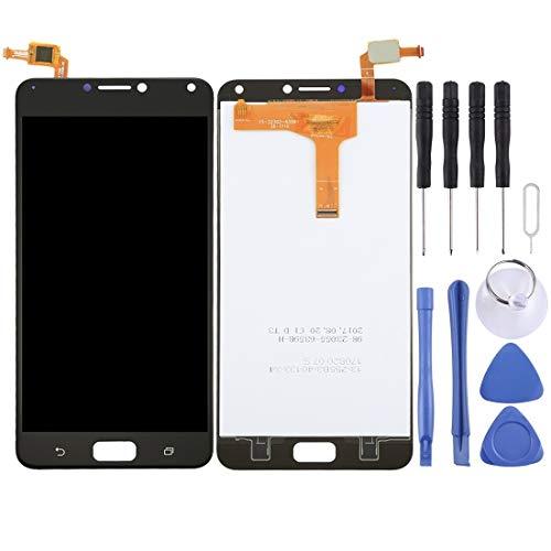 Mingxian Pantalla LCD y digitalizador Asamblea Completa for ASUS ZenFone 4 MAX / ZC554KL (Negro) (Color : Black)