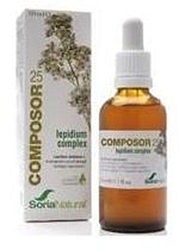 Soria Natural - Composor 25 Lepidium Complex Soria Natural, 50 Ml