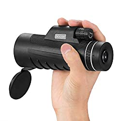 Occer 10X42 High Power Monocular Telescope HD Dual Focus Scope