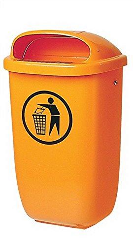 Sulo Abfallbehälter H650xB395xT250mm 50l orange SULO - 1052434