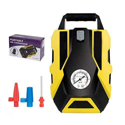 Luchtpomp, draagbare luchtcompressor met LED Smart Display, gonfiagommen, autobanden, fietsbanden, ventieladapter voor basketbal en andere gezwollen producten.