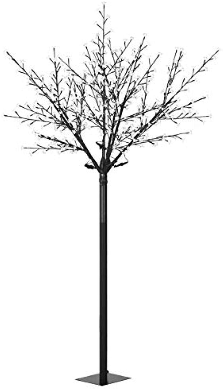 VidaXL LED Lichterbaum Weihnachten Innen Auen IP44 250cm Blau Weihnachtsbaum