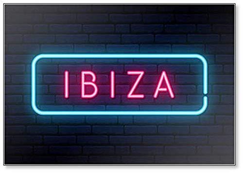Neon Sign Ibiza - Imán para nevera